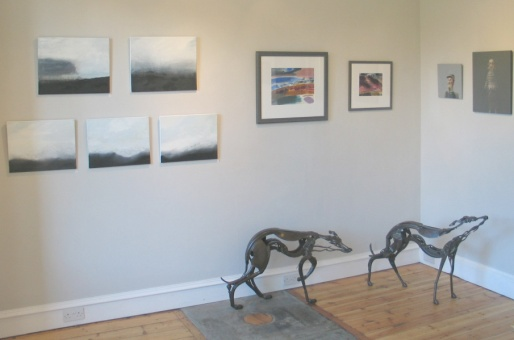 Sculpture by Helen Denerley. Paintings by Helen Booth, Mary Lloyd Jones.