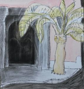 montejaque-church-spanish-palm-trees-spanish-church_tree-paintings_-sera-james-irvine
