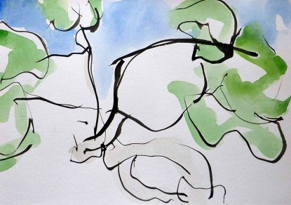 montejaque_fig-tree_spanish-trees_tree-paintings_water-colour-and-ink-painting-sera-james-irvine